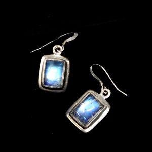 Rainbow Moonstone Earrings All Crystal Jewelry crystal earrings