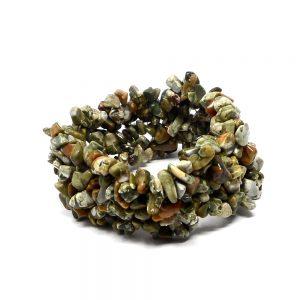 Rhyolite Five Strand Chip Bracelet All Crystal Jewelry bracelet