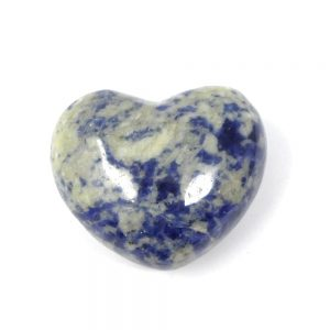 Sodalite Heart 45mm All Polished Crystals crystal heart