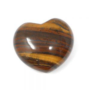 Tiger Eye Heart All Polished Crystals crystal heart