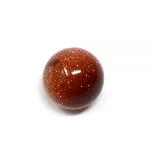 Goldstone Sphere 20mm All Polished Crystals crystal marble