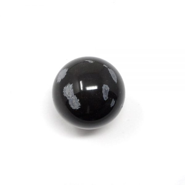 Snowflake Obsidian Sphere 40mm All Polished Crystals crystal sphere