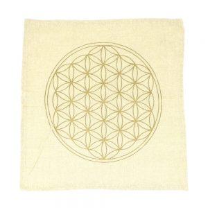Flower of Life Grid Cloth Accessories beige grid cloth