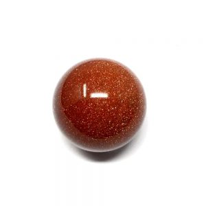 Goldstone Sphere 40mm All Polished Crystals goldstone