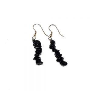 Black Tourmaline Earrings All Crystal Jewelry black tourmaline