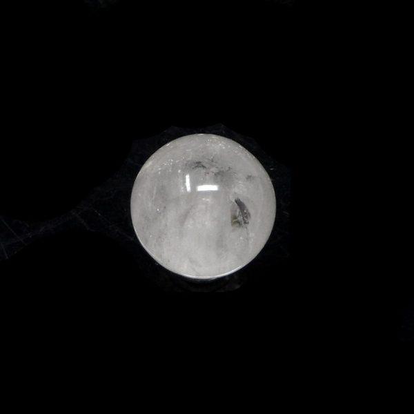 Clear Quartz Sphere 30mm All Polished Crystals clear quartz