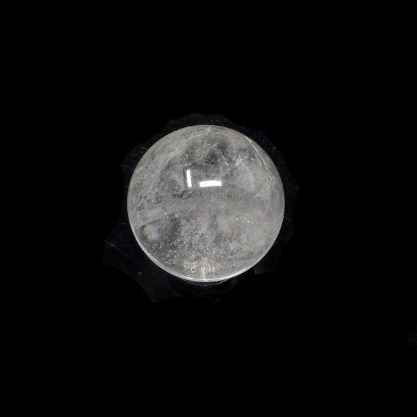 Clear Quartz Sphere 25 to 30mm All Polished Crystals clear quartz