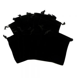 Black Pouch Medium 12 pack Accessories black crystal pouch