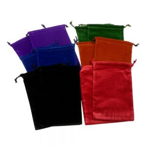Pouches lg Pack of 12 Accessories bulk crystal pouches