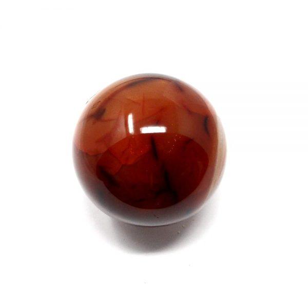 Carnelian Sphere 60mm All Polished Crystals carnelian
