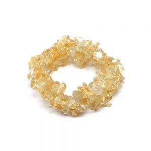 Citrine Five Strand Chip Bracelet All Crystal Jewelry bracelet