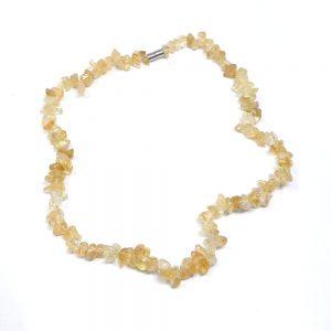 Citrine Chip Choker All Crystal Jewelry Citrine chip choker