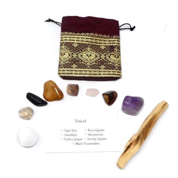 Crystal Kit ~ Travel All Specialty Items amethyst