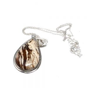 Dripping Spring Box Jasper Necklace All Crystal Jewelry crystal necklace