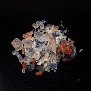 Blue & Clear Halite Crystals All Raw Crystals blue halite
