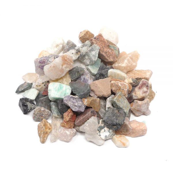 Raw Mixed Stones sm 16oz All Raw Crystals bulk crystals
