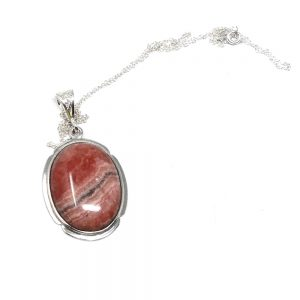 Rhodochrosite Necklace All Crystal Jewelry crystal necklace