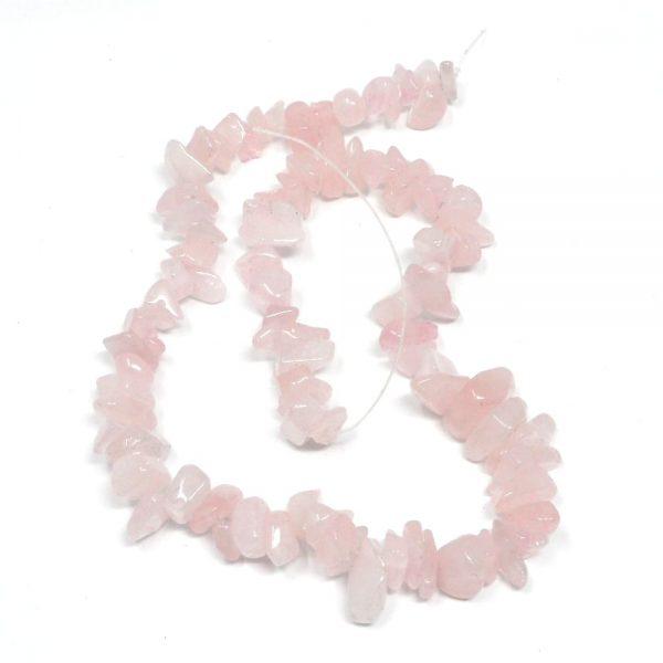 Rose Quartz Bead Strand All Crystal Jewelry bead
