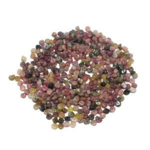 Mixed Tourmaline Chip Beads All Crystal Jewelry chip bead